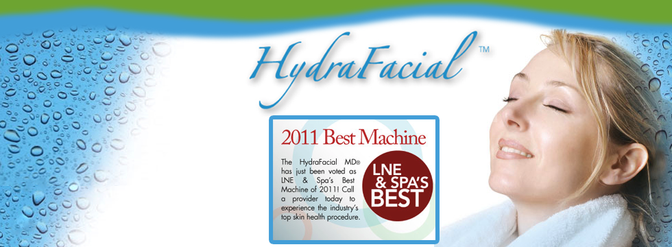treat yourself with Hydrafacial